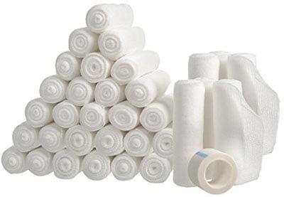 California Basics Gauze Bandage Rolls