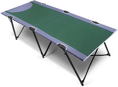 PORTAL Instant Portable Folding Camping Cot, Green