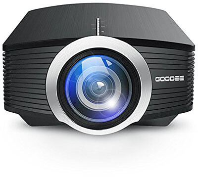 GooDee Portable Mini Projector