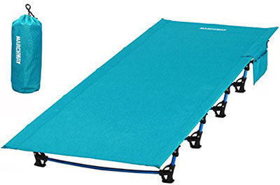 MARCHWAY Ultra lightweight Folding Tent Camping Cot Bed