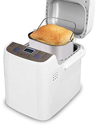 Latitop Programmable Bread Machine, 19 Menus, Removable Non-stick Pan