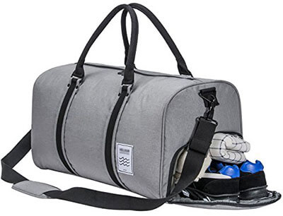 Laisome Men's Gym Bag Duffle Bag Weekend Bag