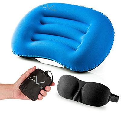 Urban V-Lands Inflatable Camping Pillow