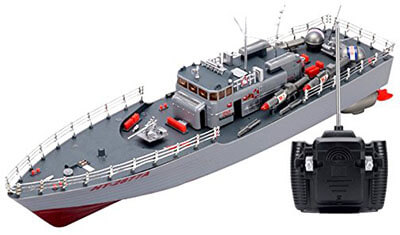 USA Missile Warship HT-2877 RTR Remote Control Boat