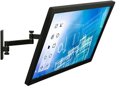 Mount-It! FBA_MI-404 MI-404 Computer screen Wall Mount Arm for Single Flat Panel LCD