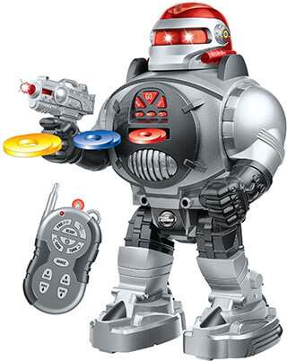 Thinkgizmos Remote Control RoboShooter Robot Toy For Boys & Girls