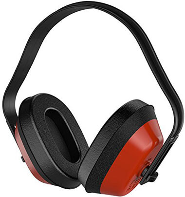Neiko 53925A Ear Muffs, NRR 26 dB, Adjustable