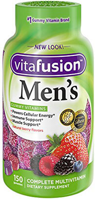 Vitafusion Men's Gummy Vitamins, 150 Count