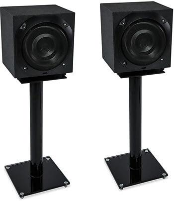 Mount-It! Floor Standings Speaker for Satellite Speakers and Surround Sound