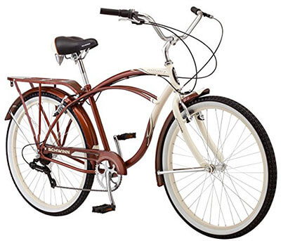 Schwinn Sanctuary 7-Speed Cruiser Bicycle for Men
