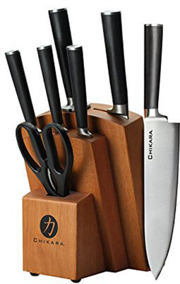 Ginsu Chikara Series Kitchen Knife Set
