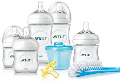 Philips Avent Newborns Natural Baby Bottle Starter Set