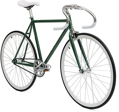 Critical Cycles Classic Fixie Bike, Pista Drop Bars