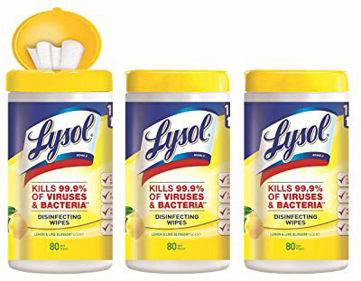 Lysol Disinfecting Wipes - Lemon & Lime Blossom