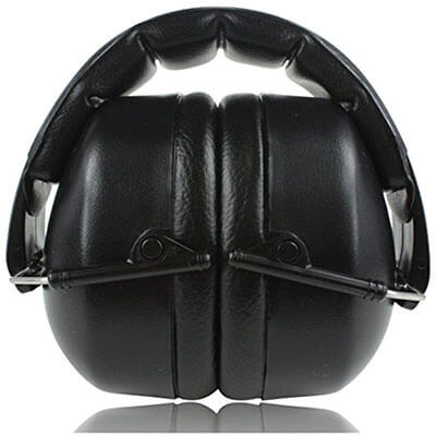 ClearArmor 141001 Hearing Protection Safety Ear Muffs Folding-Padded Head Band Ear Cups