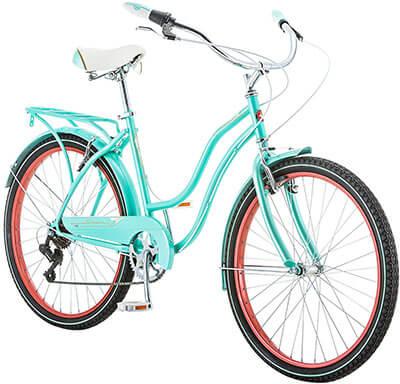 Schwinn Ladies Perla 7 Speed Cruiser Bicycle 26-Inch Wheels