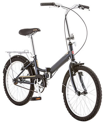 Schwinn Hinge Grey Folding Bike