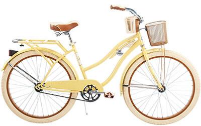 Huffy Nel Lusso Women's Cruiser Bike, 26-Inch