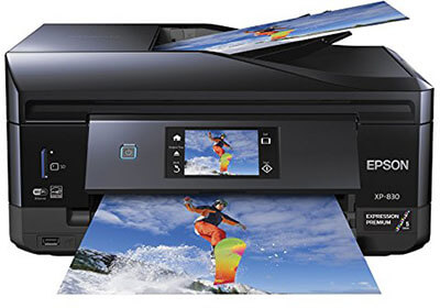 XP-830 Epson Photo Printer