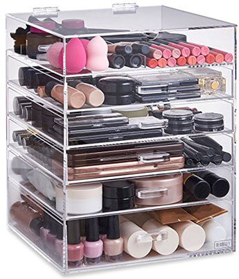 Beautify Cosmetic Makeup Organizer