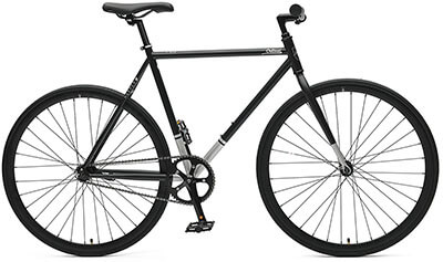 Critical Cycles Coaster Fixie Single-Speed Bicycle,Foot Brake