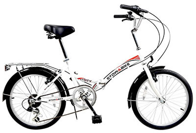 Stowabike Folding City V2 Foldable Bike