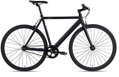 6KU Aluminum Fixie Urban Track Bike