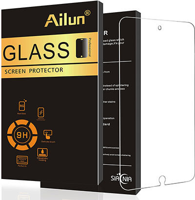 iPad Pro Screen Protector by Ailun, Premium Tempered Glass