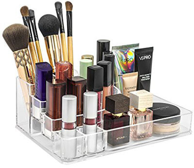 Sorbus MUP-LGTPRN Makeup Organizer