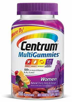 Centrum Women Multi Gummies vitamins