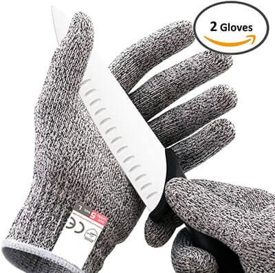 Platinum Oyster Cut Proof Glove