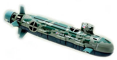 BGC Diving Toy Navy Submarine Remote Control Boat