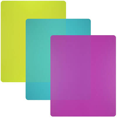 Plastic Cutting Board Mats set