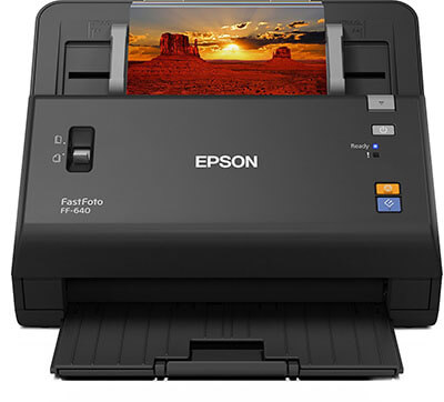 Epson FastFoto FF-640 Photo Scanning System