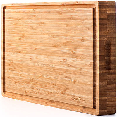 PREMIUM Bamboo Cutting Board