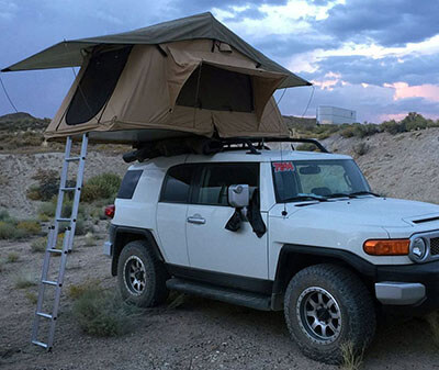 Tuff Stuff 'Delta' Overland Roof Top Tent