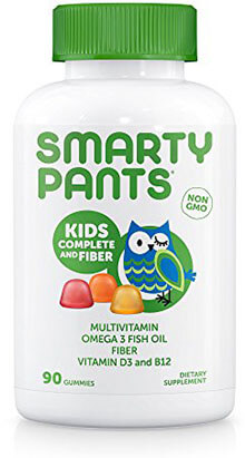 SmartyPants Kids Complete and Fiber Gummy Vitamins