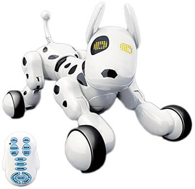 Hi-Tech Wireless Remote Control Robot Interactive Puppy Dog