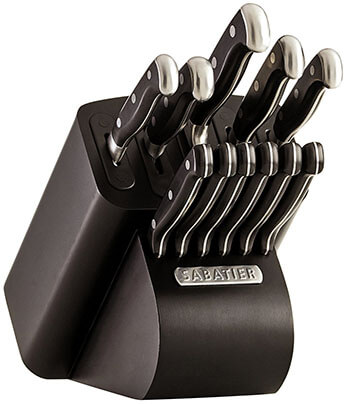 Sabatier Edgekeeper Pro Knife Block Set