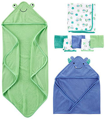 Carter's Baby Boys simple joy towel