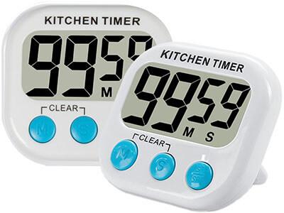 2pcs Digital Kitchen Timer