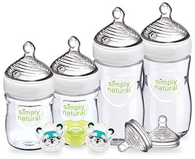 NUK Natural Newborn Gift Set, Simply natural