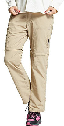 Jessie Kidden Women's Convertible Hiking Pants