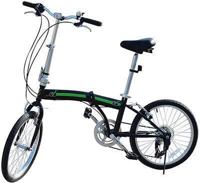 EBS Folding Bicycle City