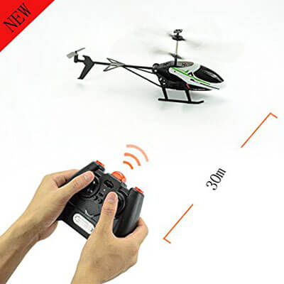 Green Grass Remote Control Helicopter