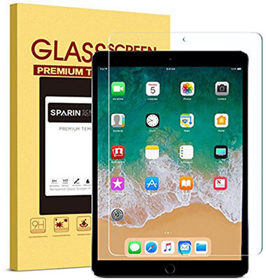 SPARIN Double Shielding Tempered Glass screen protector