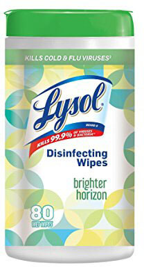 Lysol Disinfecting Wipes - Refreshing Cucumber Lime