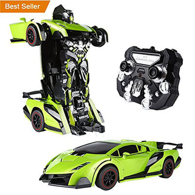 SainSmart Jr. Transform Car Robot, Remote Control RC Vehicles