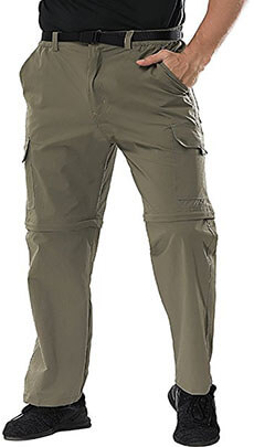 Binhome Men's Outdoor Hiking Pants