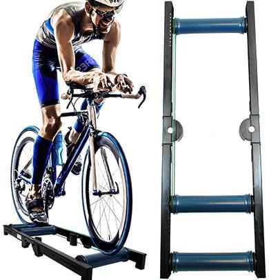 AccelaVelo Pro-X Indoor Bike Roller